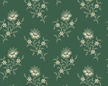 Evergreen - Fern Floral Spruce by Laundry Basket Quilts from Andover Fabrics