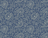 Beehive - Jacobean Blue by Need'l Love from Andover Fabrics
