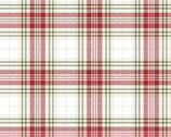 Home for the Holidays - Tartan Plaid Print Multi by Beth Albert from 3 Wishes Fabric