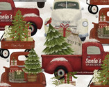 Home for the Holidays - Trucks by Beth Albert from 3 Wishes Fabric