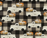 Happy Fall - Truck Plaid by Beth Albert from 3 Wishes Fabric