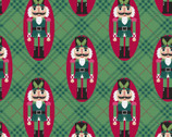 Holiday Wonder - Nutcracker Green from 3 Wishes Fabric