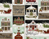 Home for the Holidays - Patch Around Town by Beth Albert from 3 Wishes Fabric