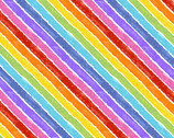 The VHC In the Garden -Rainbow Fancy Day by Eric Carle from Andover Fabrics