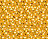 Spring Florals - Dreammaker Ditsy Mustard Yellow from David Textiles Fabrics