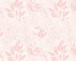 Spring Florals - Tonal Leaves Pink from David Textiles Fabrics