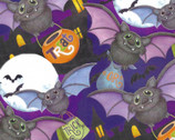 Halloween Haunting Batts Toss from Springs Creative Fabric