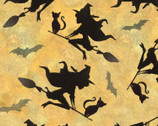 Halloween Flying Witches from Springs Creative Fabric
