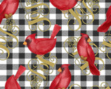 Christmas Cardinal Joy from Springs Creative Fabric