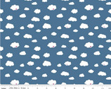 Dream - Drift Clouds Blue by Kristy Lea from Riley Blake Fabric