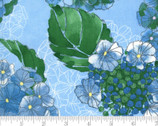 Cottage Bleu - Florals Mist Blue by Robin Pickens from Moda Fabrics