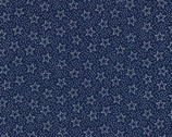Heart of America - Stars Blue from Fabric Traditions Fabric