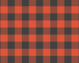 Reindeer Lodge - Buffalo Plaid Red from Camelot Fabrics
