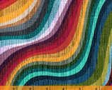 Terrain Wave - Waves Universe Colorful by Whistler Studios from Windham Fabrics