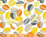 Mimosa - Leaves Sunflower by Another Point of View from Windham Fabrics