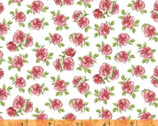 Love Letters - Mini Roses Rose Pink by Shannon Christensen from Windham Fabrics