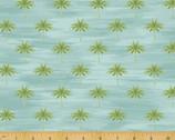 Isla - Mini Palms Aqua by Whistler Studios from Windham Fabrics