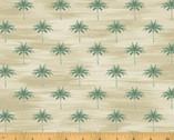 Isla - Mini Palms Sand by Whistler Studios from Windham Fabrics