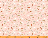 Kenzie - Sprinkled Leaves Peach Pink by Whistler Studios from Windham Fabrics