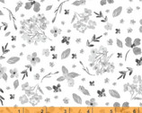 Colette - Scattered Blooms White by Whistler Studios from Windham Fabrics