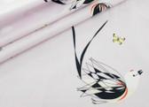 Western Birds Poplin - Scissortailed Flycatcher by Charley Harper from Birch Fabrics