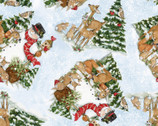 Christmas - Toss Snowmen and Animals from Springs Creative Fabric