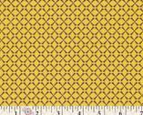 Retro-Spective - Kitchen Trellis mustard from Art Gallery Fabrics
