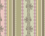 Dashing Roses - Palm Lace Ribbons from Art Gallery Fabrics