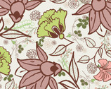 Botanica - White Blooms Garden from Art Gallery Fabrics