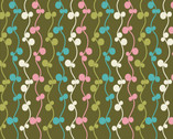 Girly Girl - Olive Vines from Art Gallery Fabrics