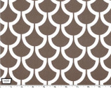 "Bekko - 55"" Home Décor Cotton Sateen - Billow Brown from Michael Miller"