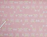 Kiyohara Giraffe Seersucker - ECB-11 Pink by Mico Ogura
