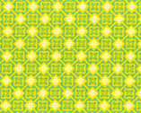 Folk Modern - Tile Yellow by Ellen Luckett Baker from Kokka Fabrics