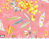 Flight Patterns - Mimosa Pink by Tamara Kate from Michael Miller