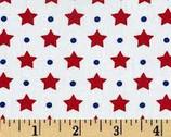 Freedom - Americana Dots & Stars from Robert Kaufman