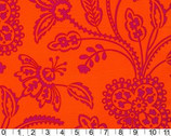 Garden Floral Tonal - Orange from Michael Miller