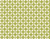 Wallflowers - Green Petal Foulard by Allison Harris from Windham Fabrics