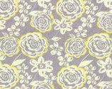 Modern Roses - Honey Sweet Camelot Grey by Stephanie Ryan from Moda