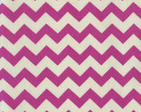 Afterglow - Fuchsia Pink Chevron from Dear Stella