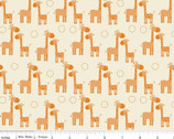 Giraffe Crossing - Giraffe Orange by RBD Designers from Riley Blake