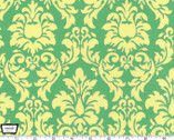 Dandy Damask - Sprout Green from Michael Miller