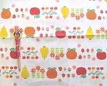Puti De Pome Printed Oxford - Fruit Off-white from Kiyohara