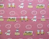 Puti De Pome - Lightweight Canvas - Classroom pink from Kiyohara