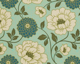 "Bungalow - Forest Dahlia - Cotton Sateen Fabric - 54/55"" by Joel Dewberry from Free Spirit"