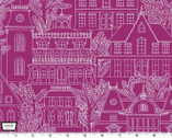 Midnight Gems - Maison Jewel Cotton Print Fabric from Michael Miller
