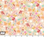 Oh Baby Charms Pink - Cotton Print Fabric by Cynthia Rowley from Michael Miller