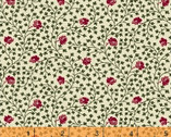 Ashley Rose Vine Ivory Cotton Print Fabric from Windham Fabrics