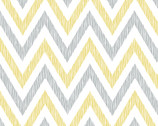 Simpatico - Chevron Golden - Organic Cotton Print Poplin from Cloud9