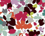 Modern Age - Floral Warm White - Cotton Print Fabric from Studio E