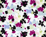 Modern Age - Floral Blue - Cotton Print Fabric from Studio E